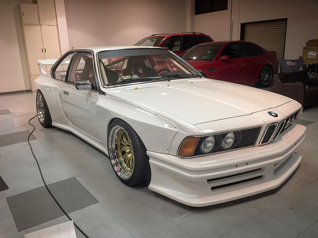 E24 Bmw 6 Series Gets Widebody Kit From Coutner Japan Is Made By Kei Miura Autoevolution