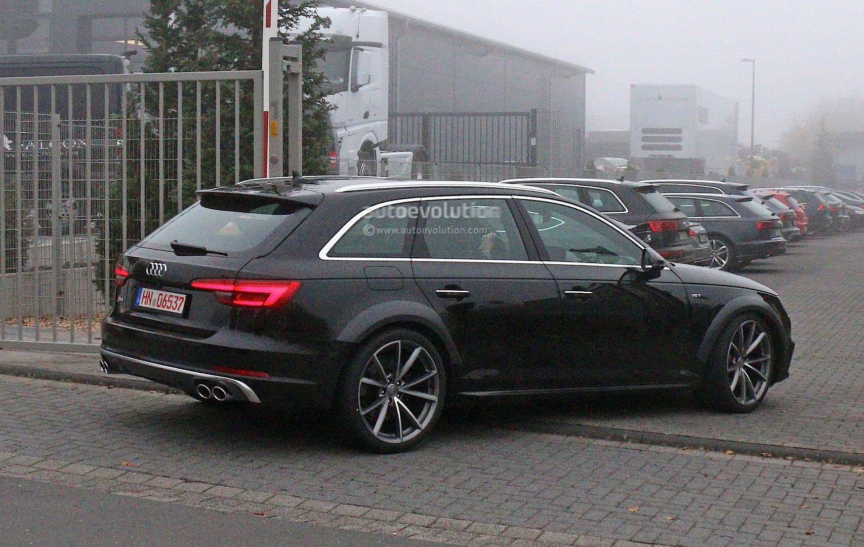 2019 Audi A4 >> Early 2018 Audi RS4 Avant Chassis Testing Mule: This Could Be It - autoevolution