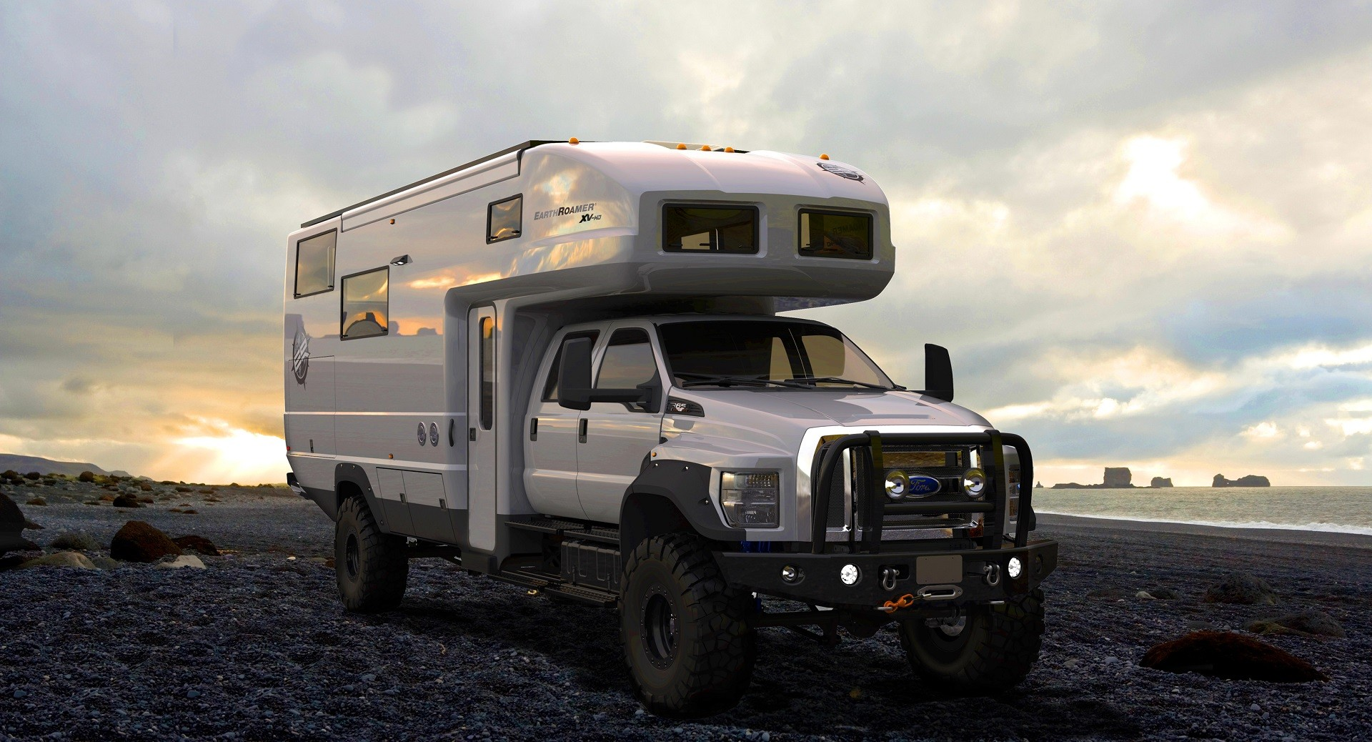 The ford f 650 concept truck is big the ford f 650 concept truck is - Earthroamer Xv Hd