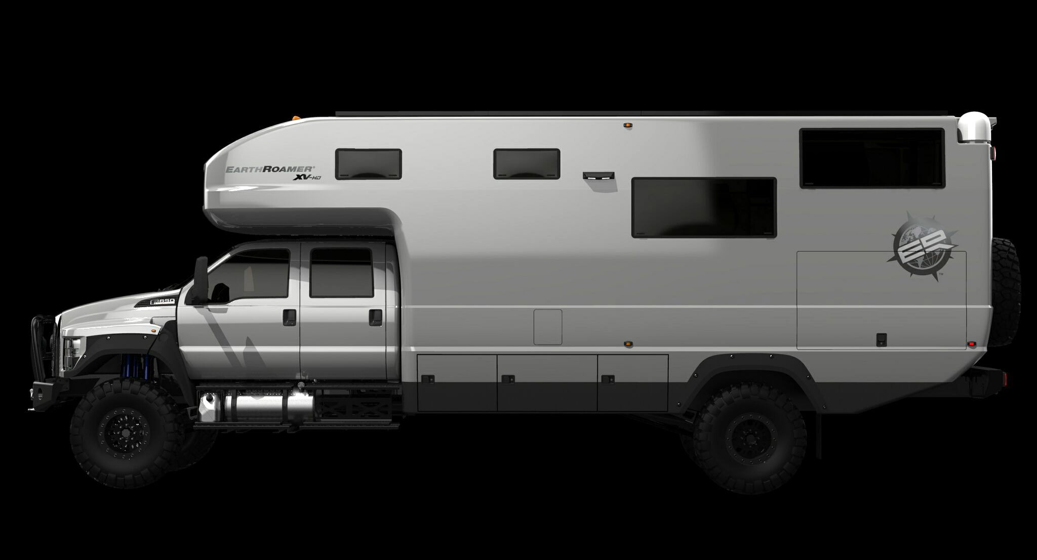 Earthroamer Xv Hd Is A Ford F 650 Based Rv Worth Almost 1