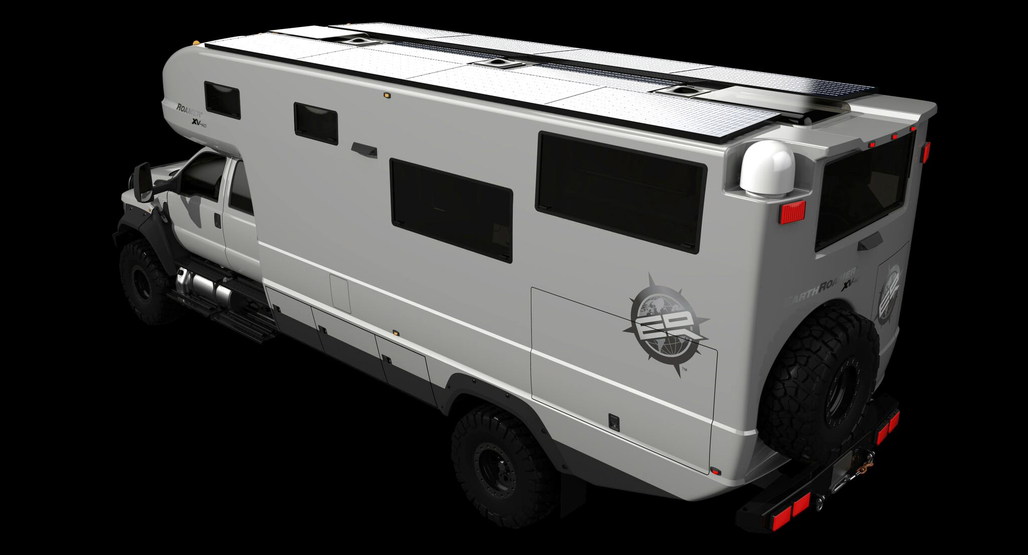 Earthroamer Xv Hd Is A Ford F 650 Based Rv Worth Almost 1