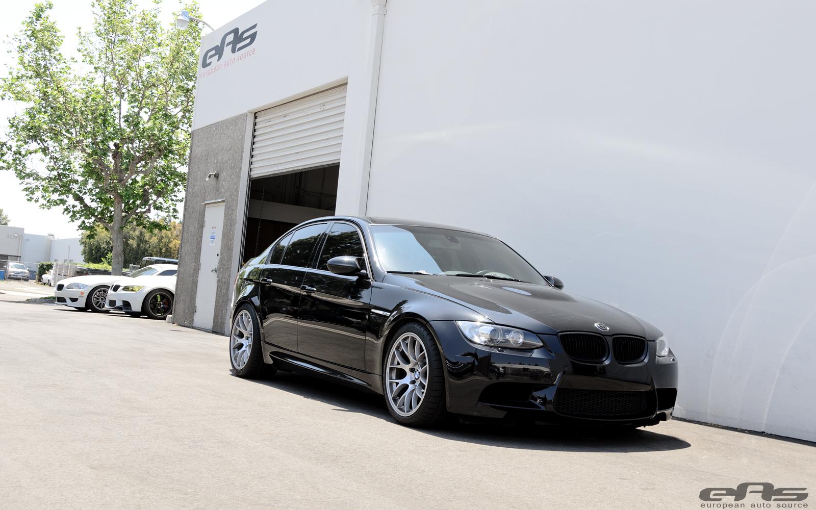eas fits jet black bmw e90 m3 with apex wheels autoevolution