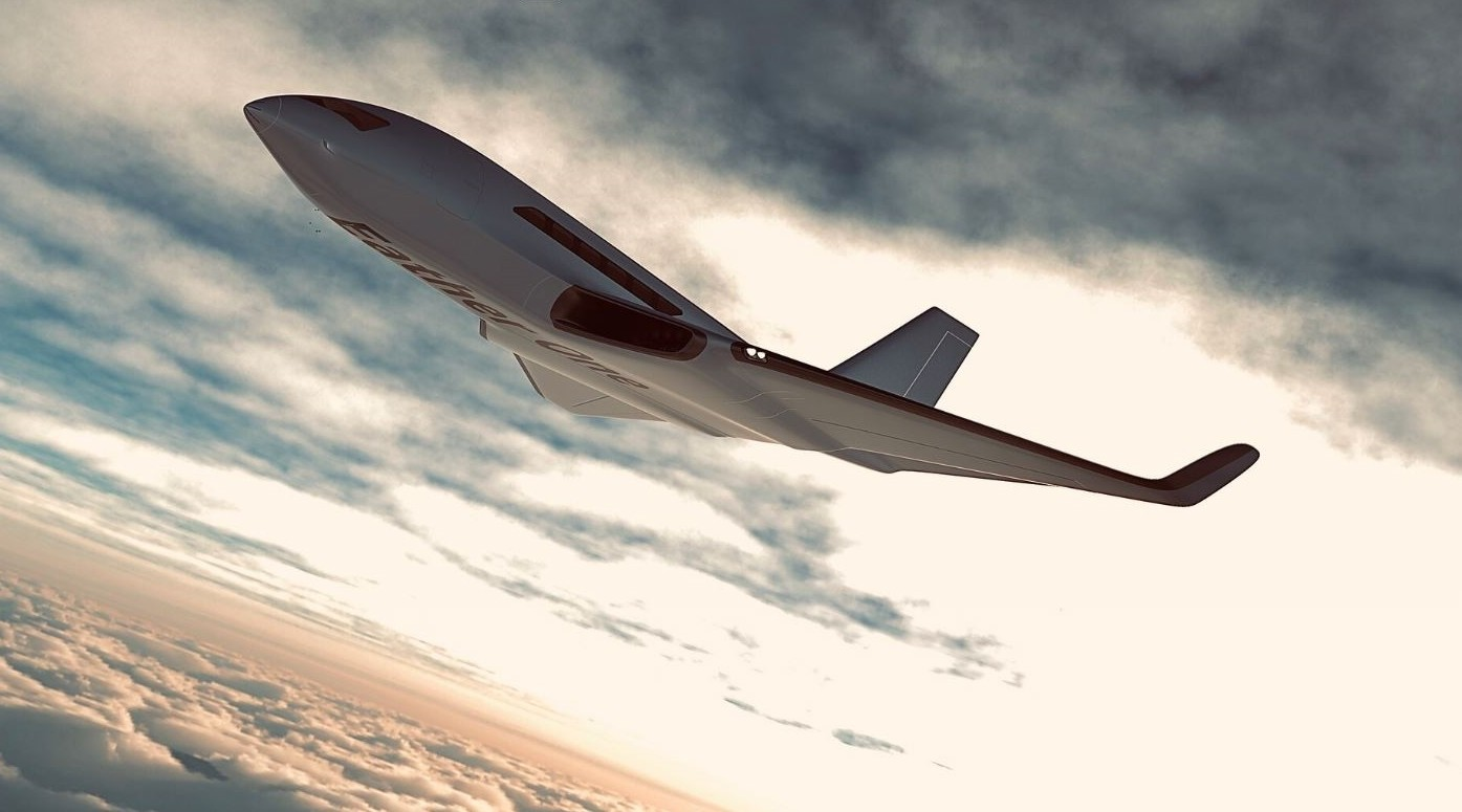 Eather One Electric Plane Uses Air Friction to Generate Power ...