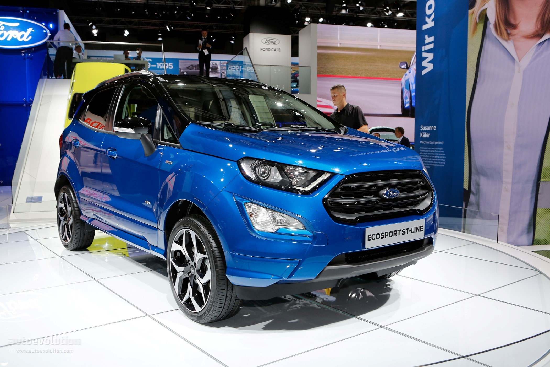 2018 Ford EcoSport Tries To Look Cool With ST-Line Package In Frankfurt - autoevolution