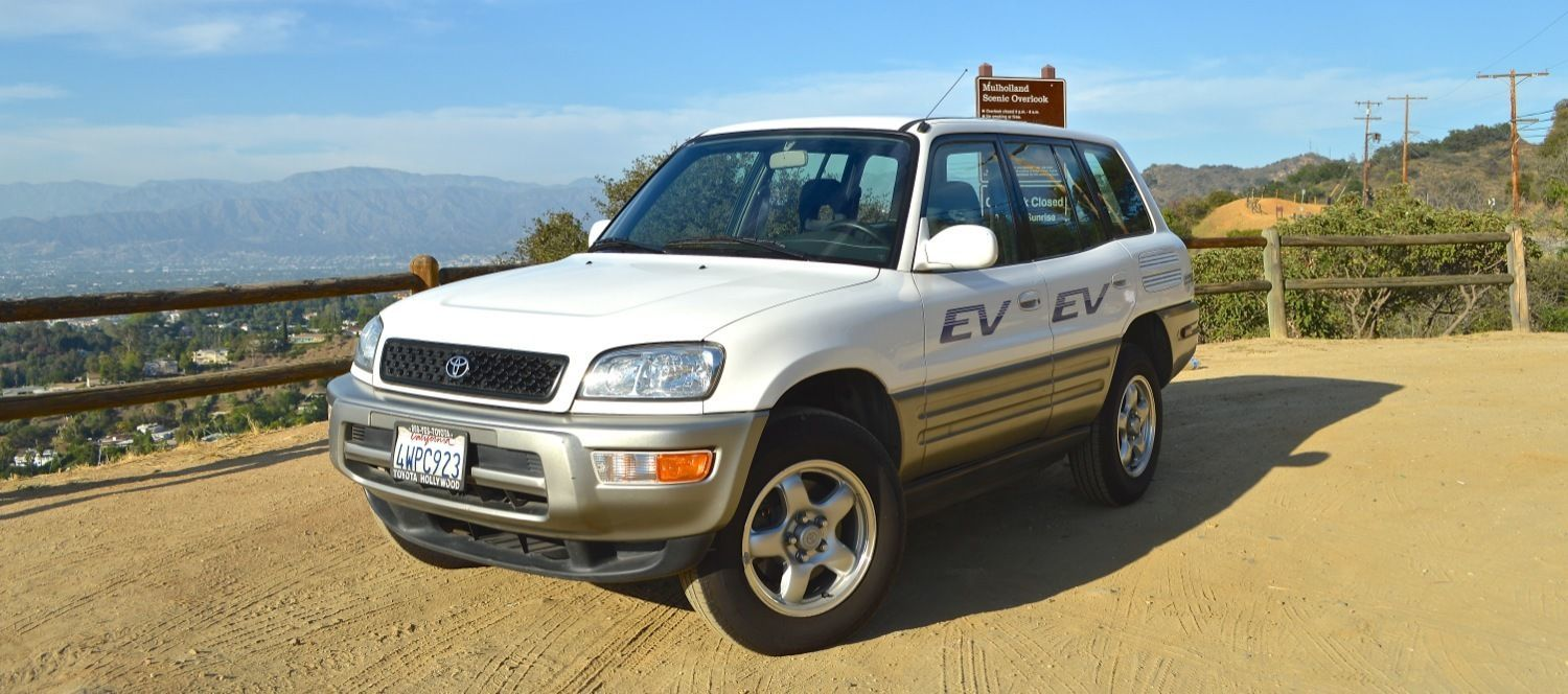 ed begley 39 s toyota rav4 ev is up for sale. Black Bedroom Furniture Sets. Home Design Ideas