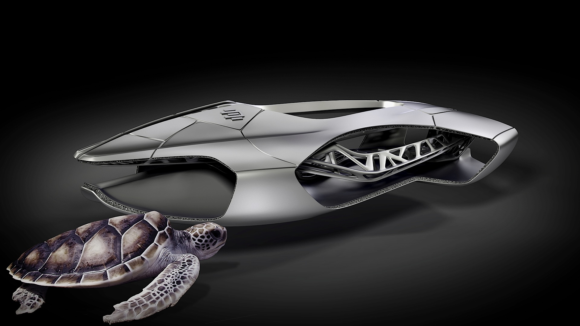 Edag Genesis Is A 3d Printed Ninja Turtle Car Autoevolution