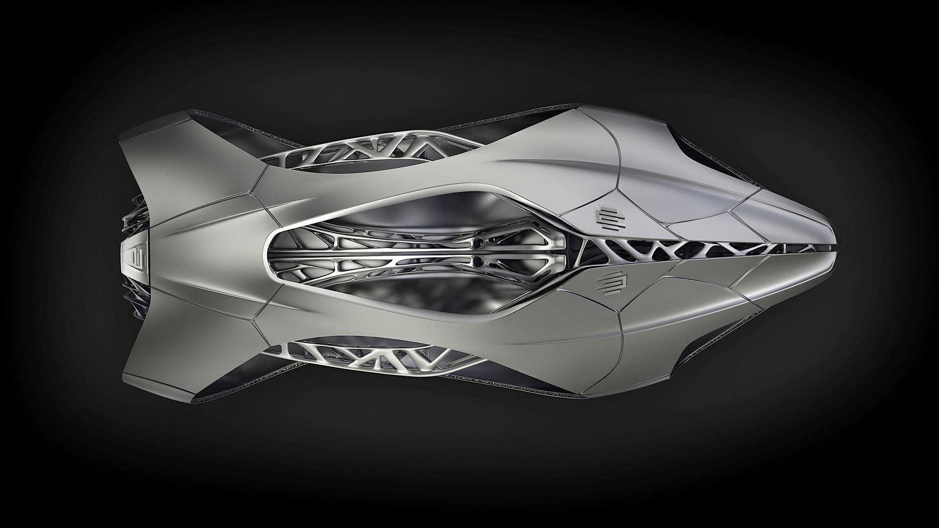 Edag Genesis Is A 3d Printed Ninja Turtle Car Autoevolution
