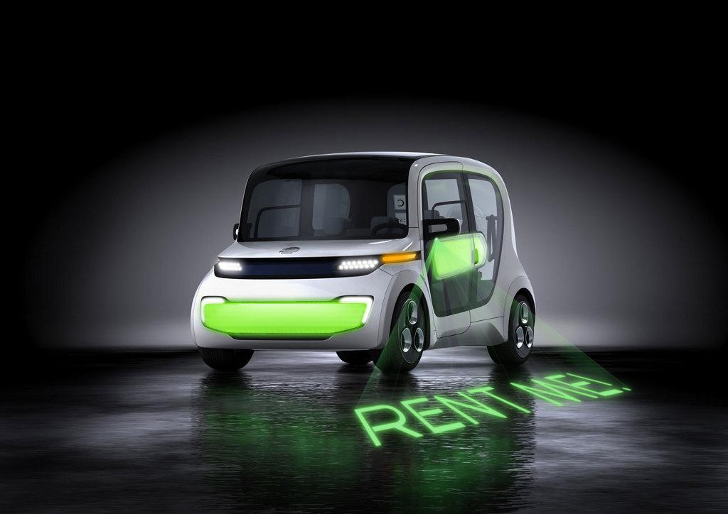 Geneva Auto Show Light Car Open Source Autoevolution - Car light show