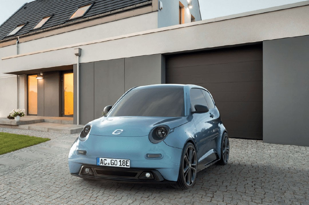 e go life is a german 17 000 electric microcar for your. Black Bedroom Furniture Sets. Home Design Ideas