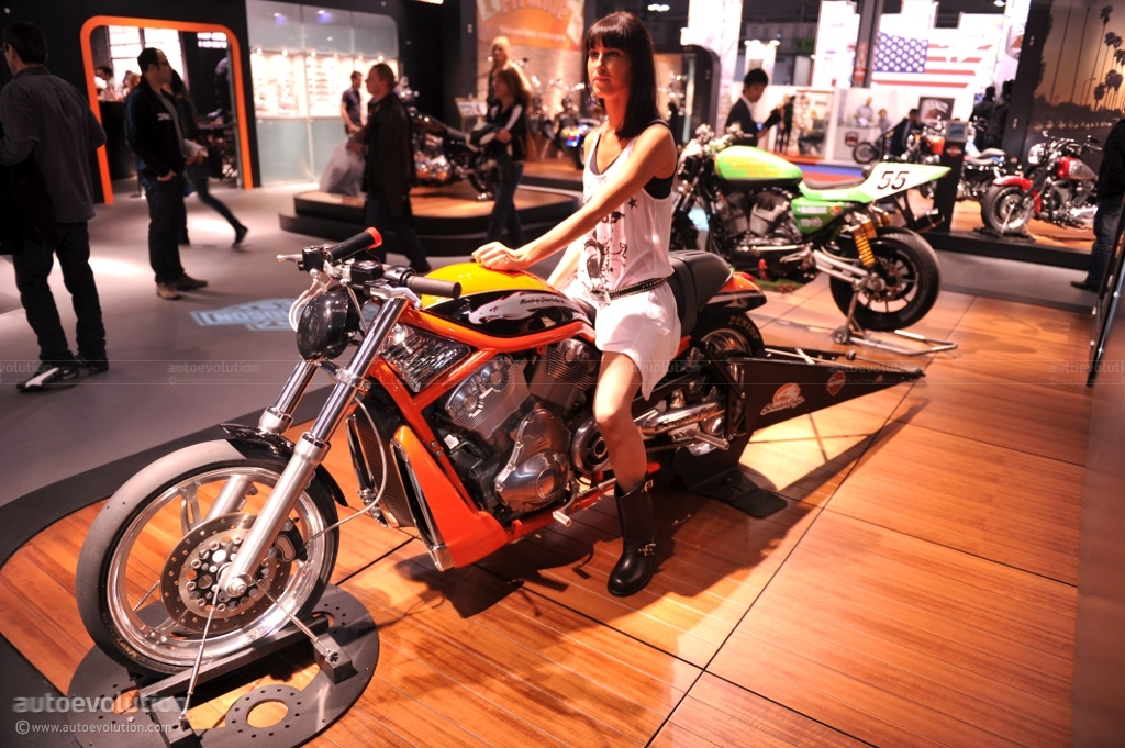 Eicma 2010 Harley Davidson Vrxse Screamin Eagle V Rod