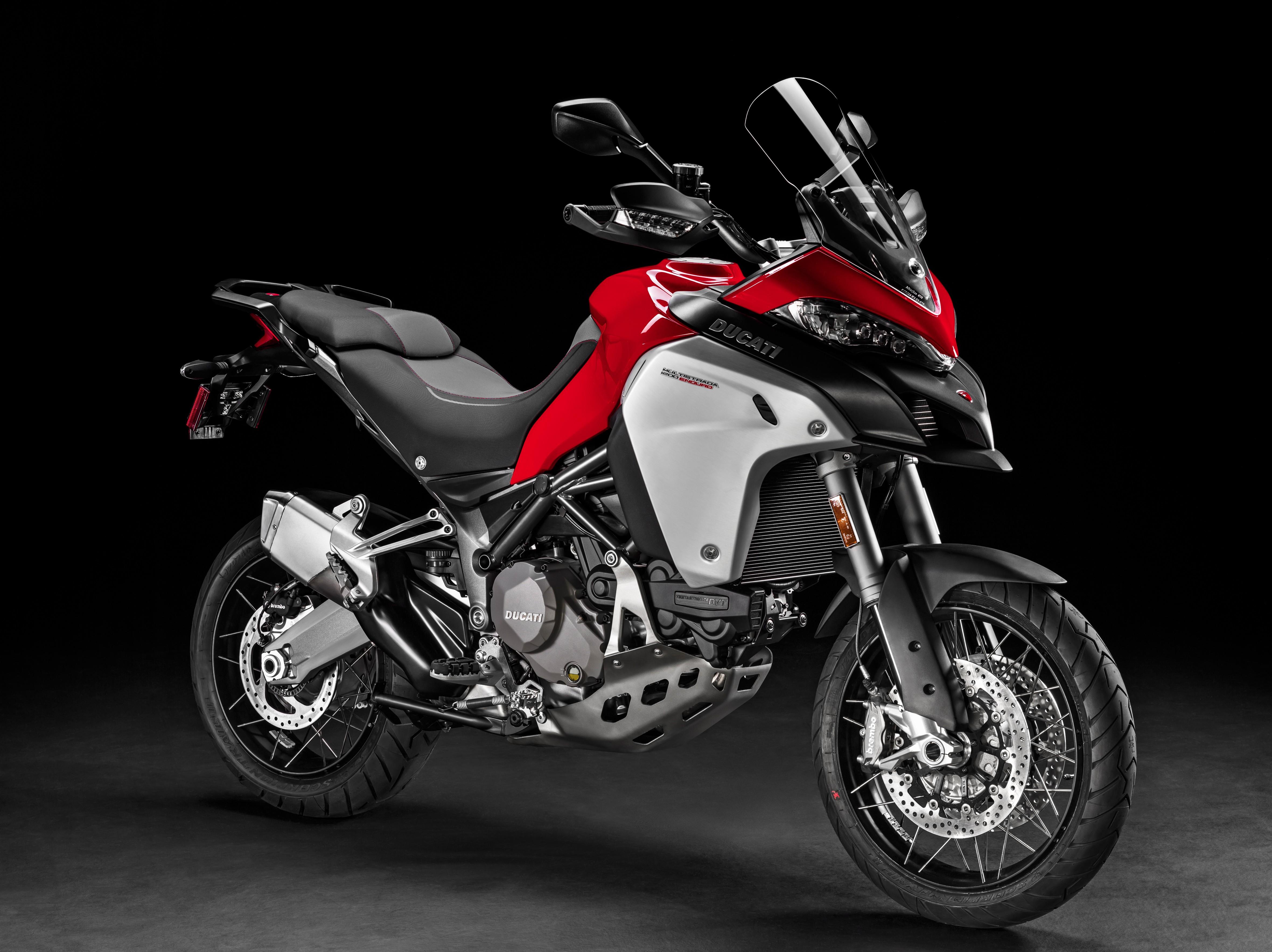 Eicma 2015 Ducati Multistrada 1200 Enduro Eyes New