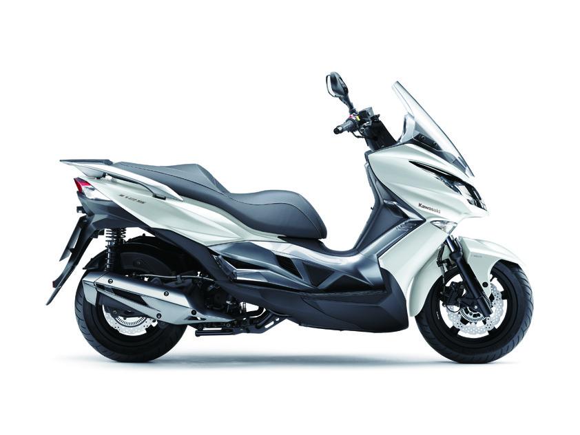 eicma 2015: kawasaki j125 maxi-scooter offers more flexibility