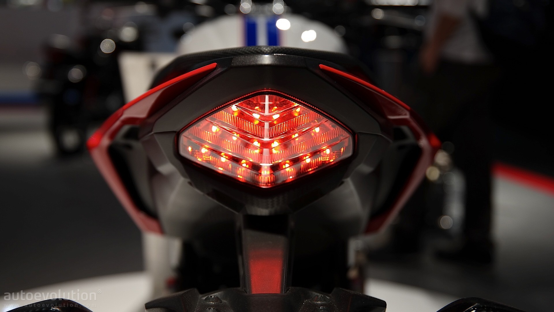 Honda CB500F Taillight At EICMA 2015