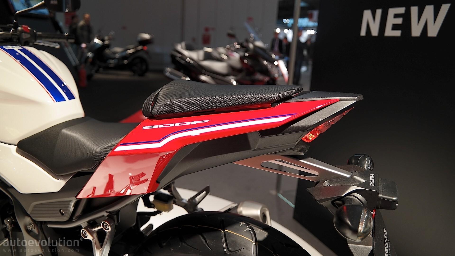 Honda CB500F At EICMA 2015