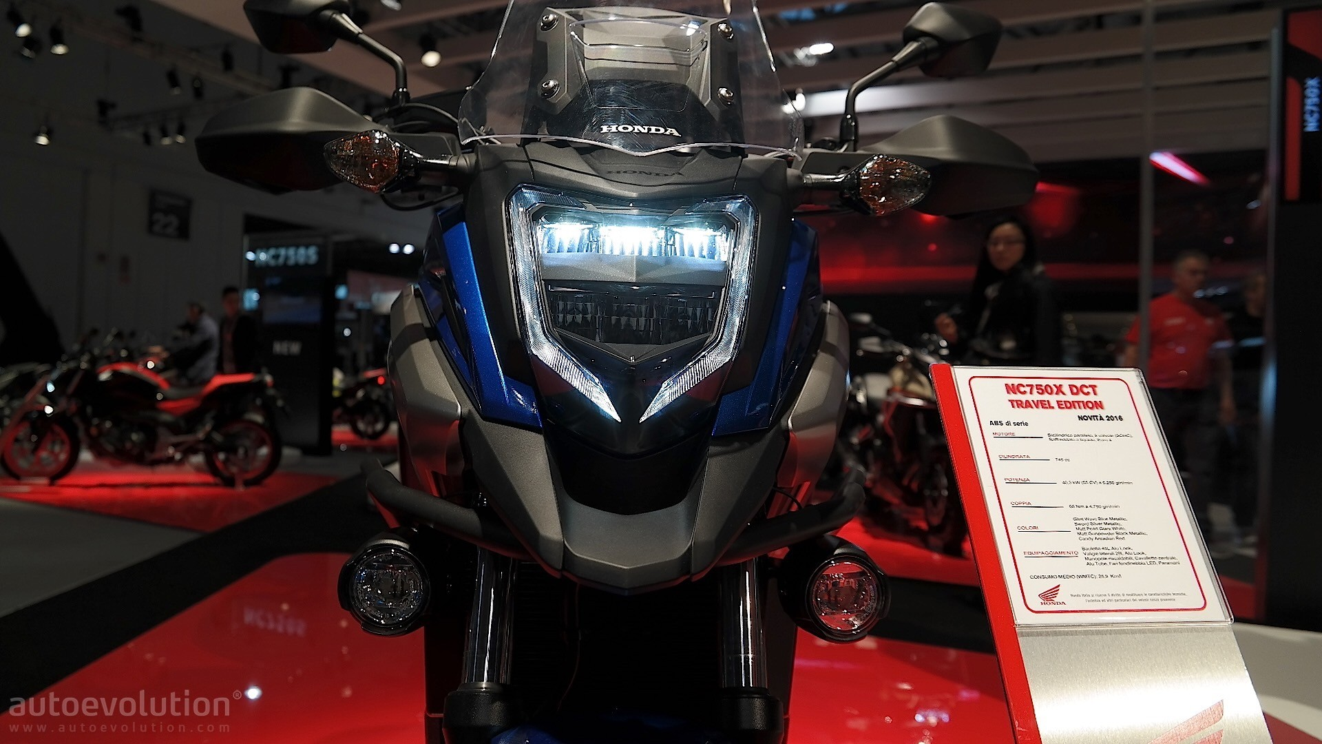 Eicma 2016 Honda Nc750x Shows Sharpened Looks And Several