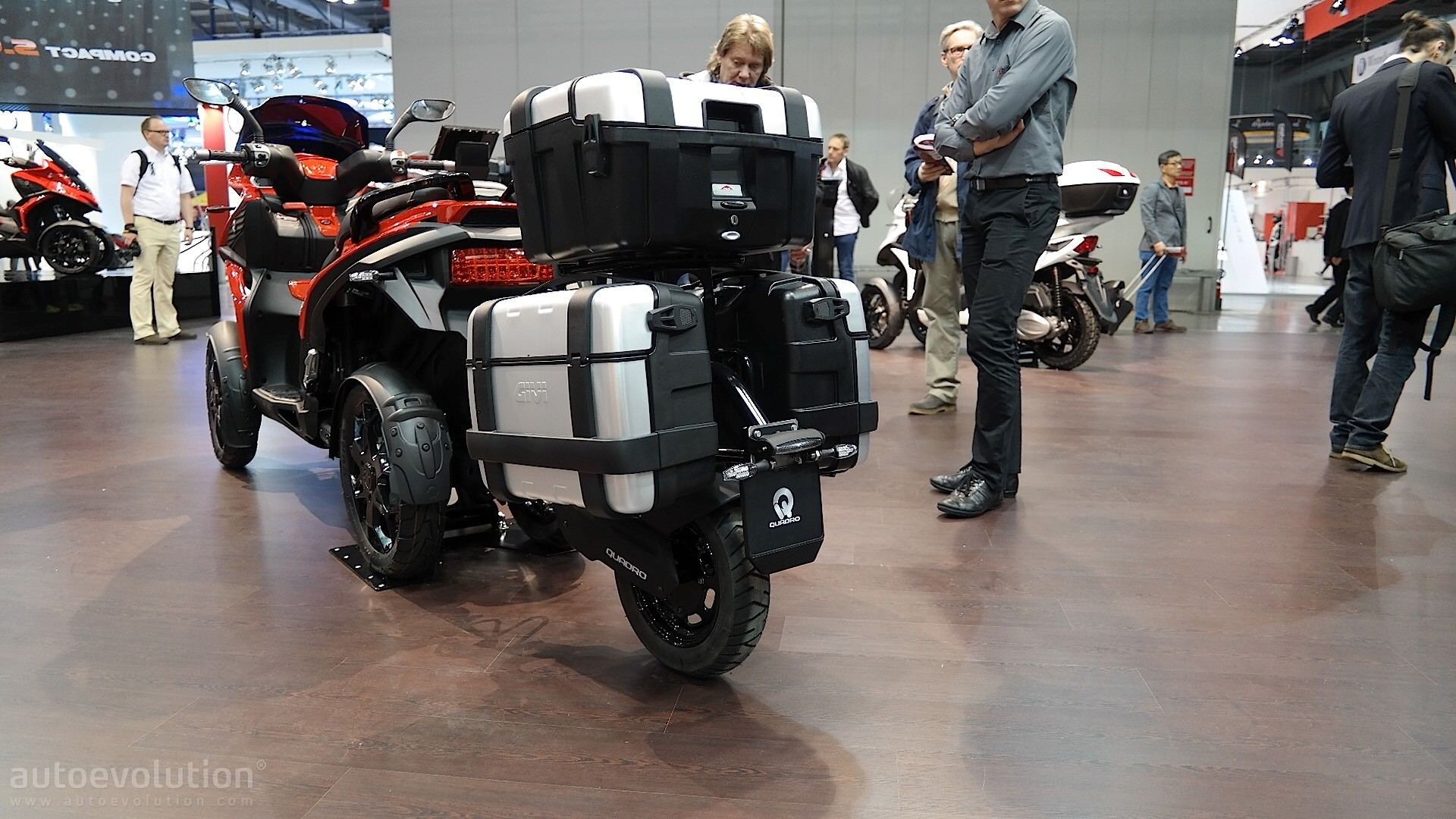 EICMA: Quadro Big Q Becomes Smart and Rugged - autoevolution