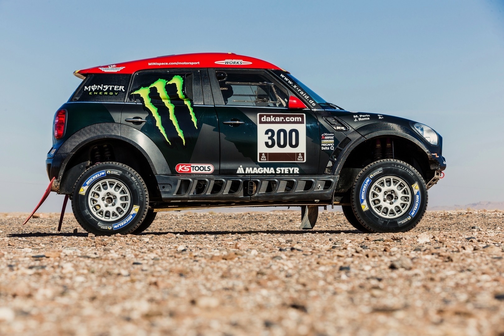 Eight Mini All4 Racing Cars Sign Up For 2015 Dakar Rally