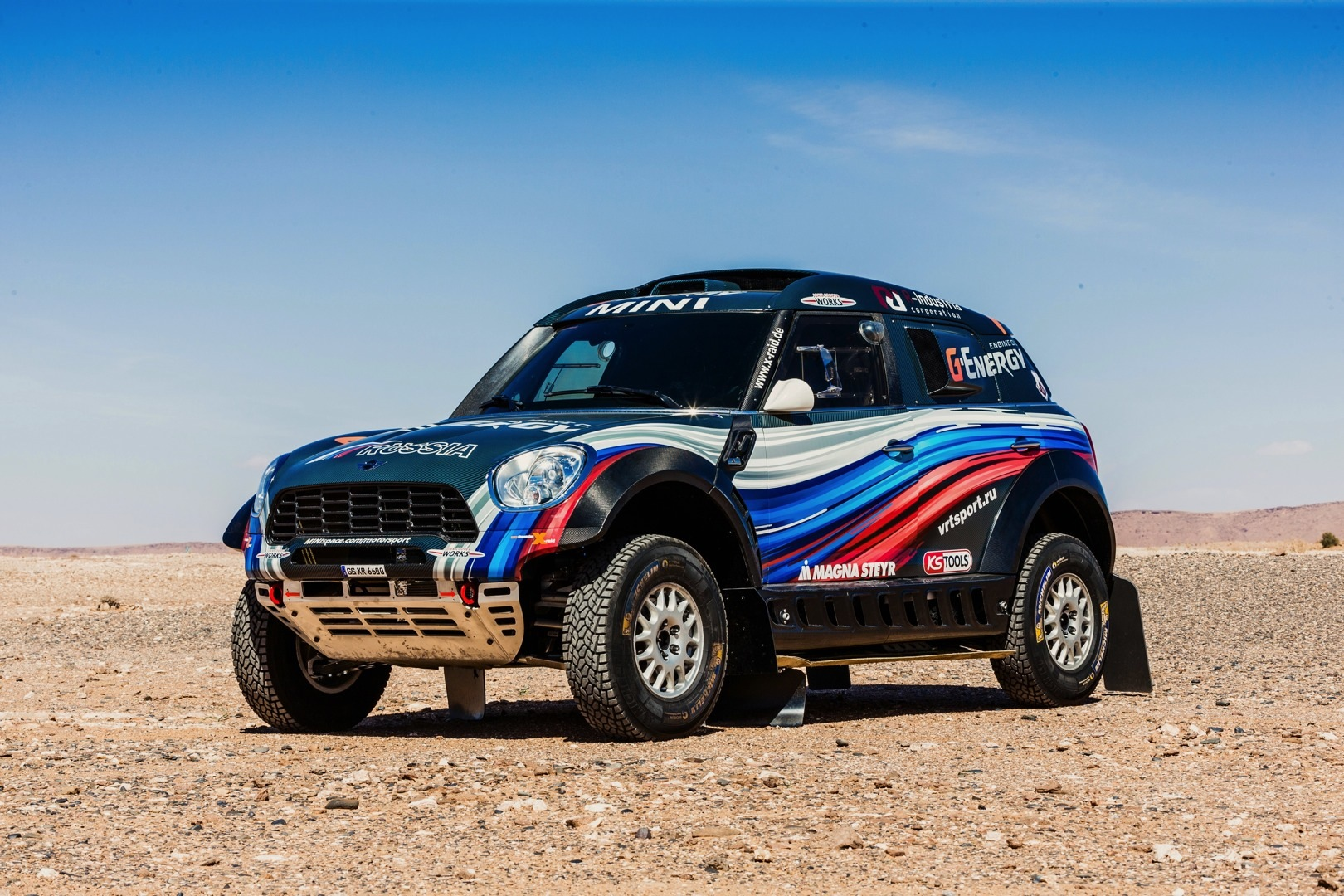 Eight MINI ALL4 Racing Cars Sign Up for 2015 Dakar Rally