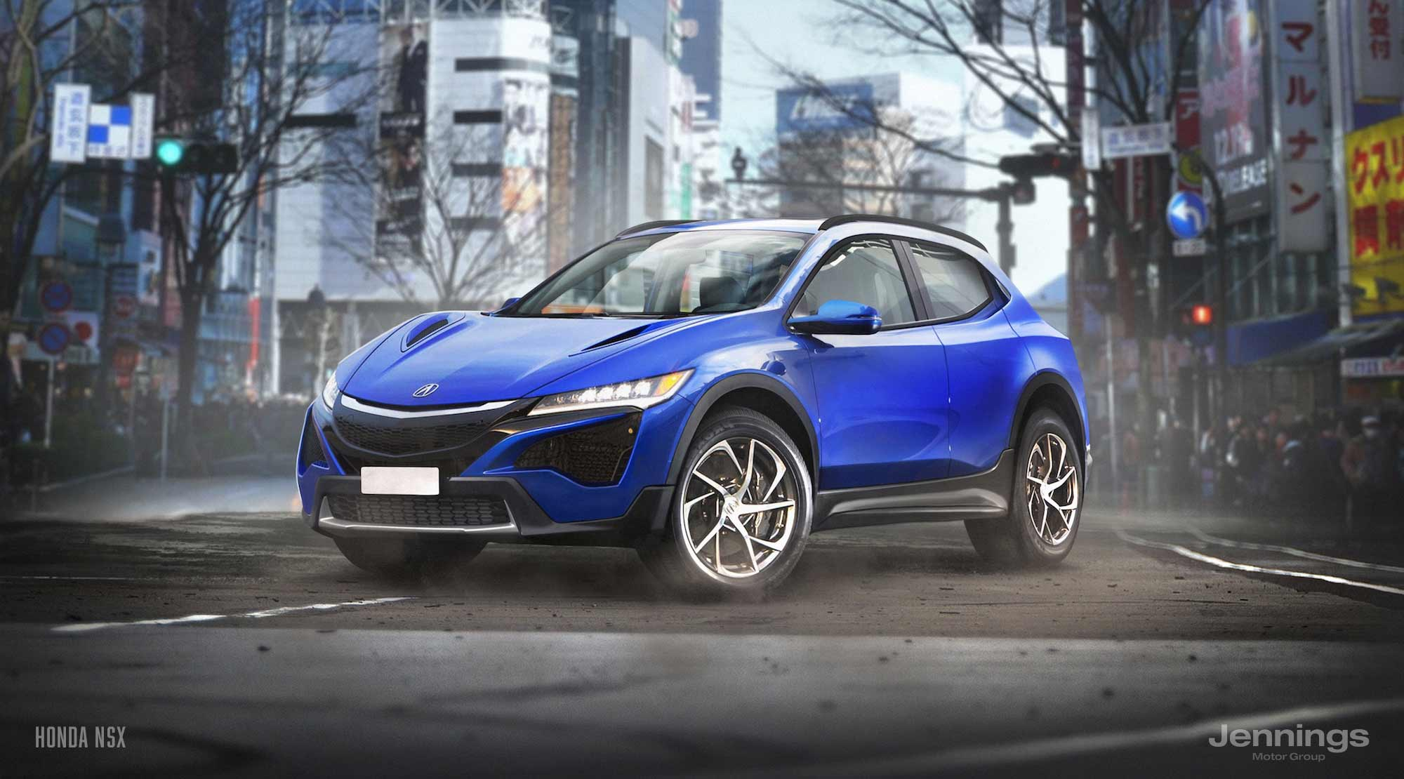 Eight Sports Cars and Supercars Reimagined as SUVs Because ...