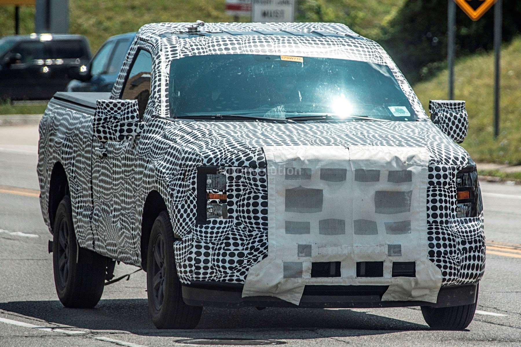 Electric Ford F-150 Rendered Based on Spyshots, Looks ...