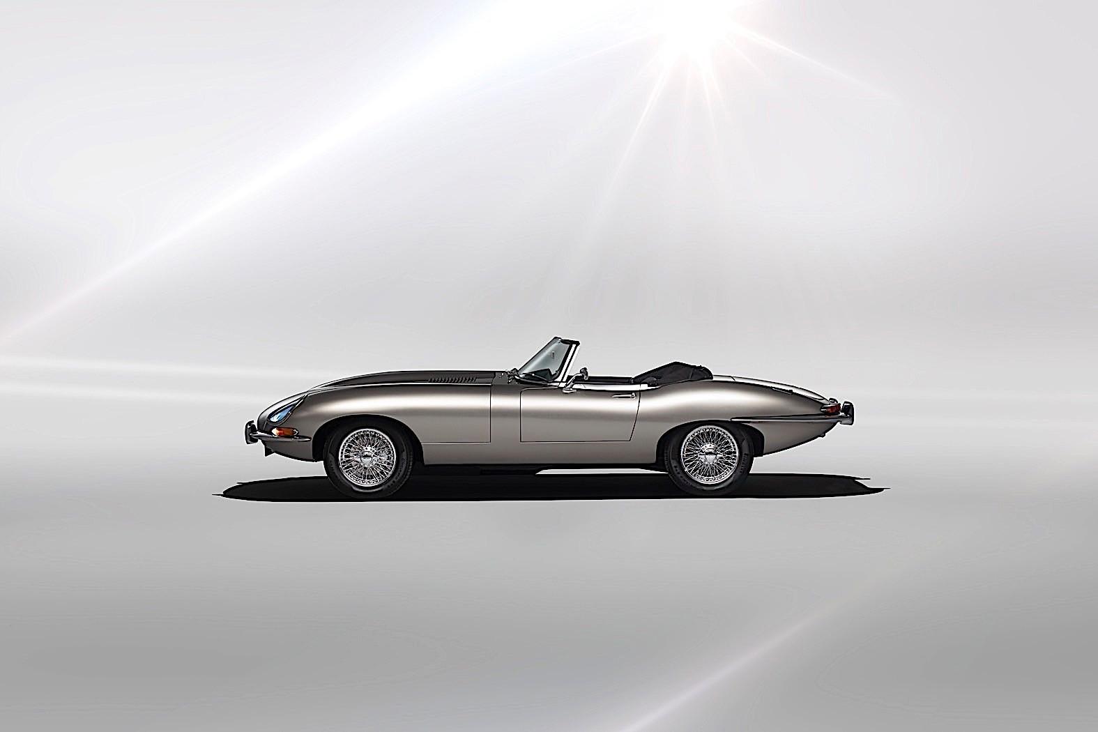 electric jaguar e type zero is a go for production autoevolution. Black Bedroom Furniture Sets. Home Design Ideas