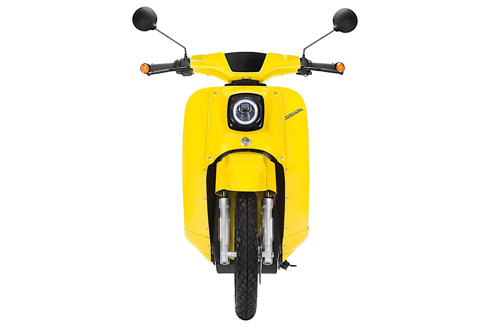 electric schwalbe scooter finally available this summer. Black Bedroom Furniture Sets. Home Design Ideas