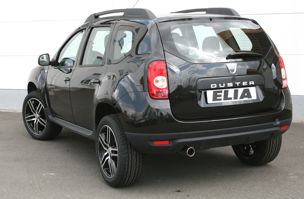 Elia Tunes the Dacia Duster - autoevolution