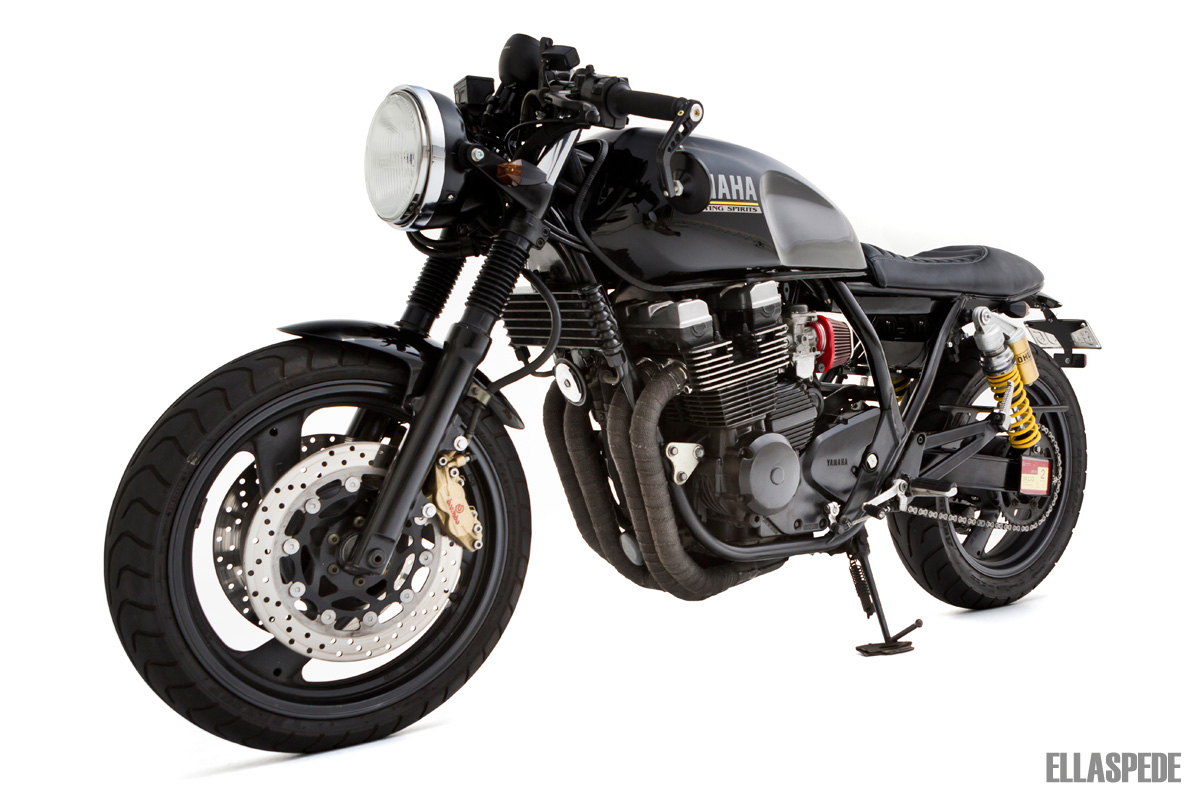Ellaspede Yamaha Xjr400 Boasts Retro Aggression
