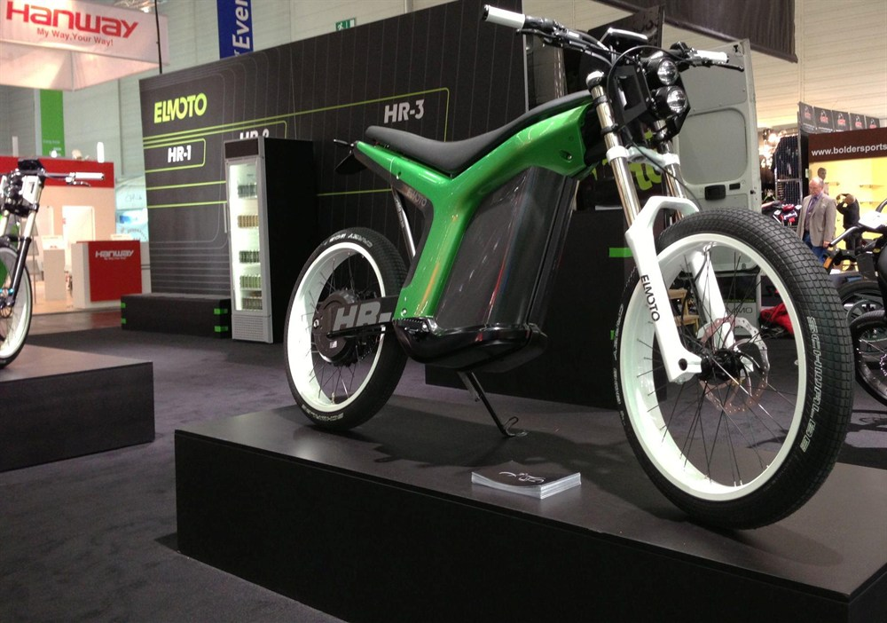 Elmoto Shows Hr 3 Electric Bike Autoevolution