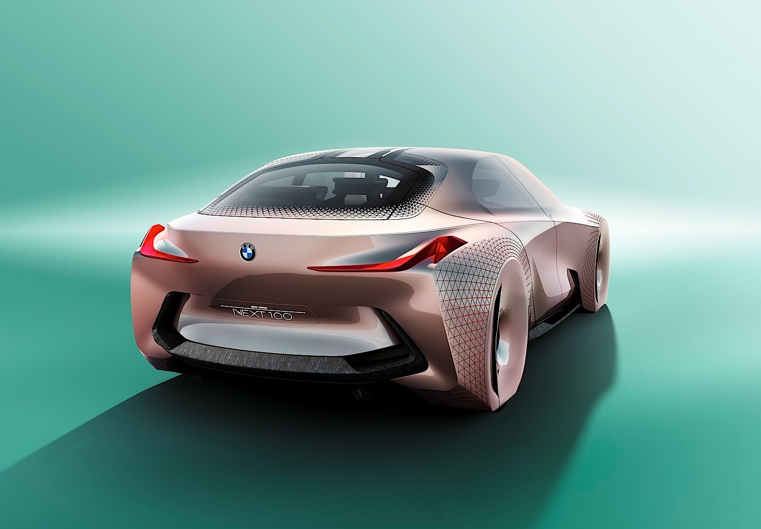 ... BMW Vision Next 100 Concept ...
