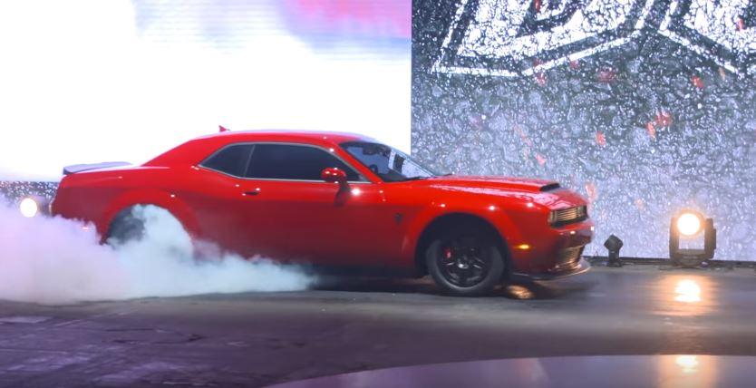 dodge hellcat demon vs tesla Engineering Explained Drops Dodge Demon vs. Tesla Model S