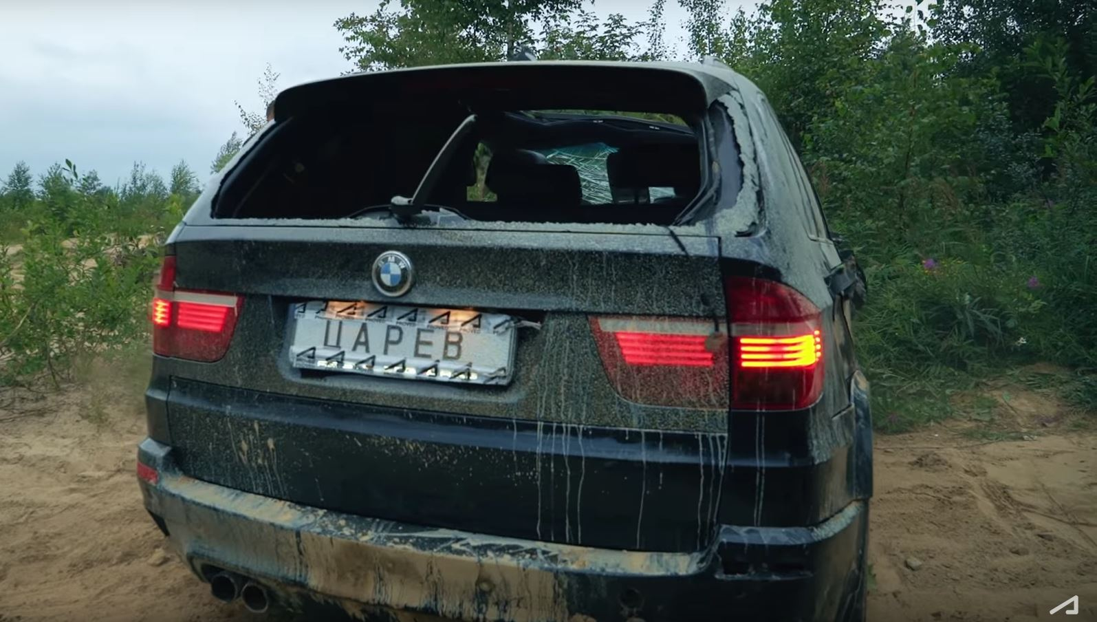 Epic Bmw X5 M Off Road Crash Is Pure Russia Autoevolution