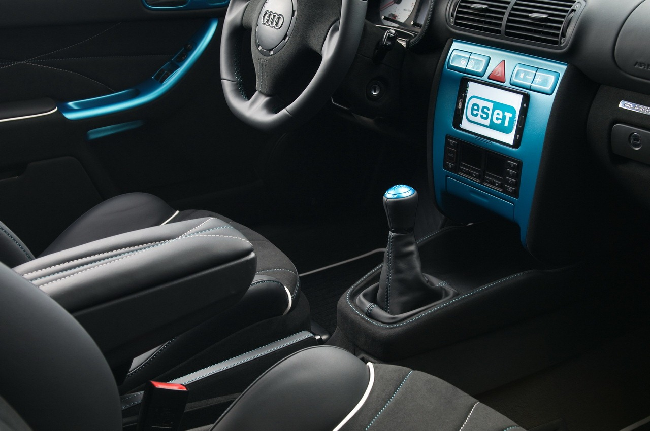 eset gets a nod32 audi a3 antivirus car from vilner autoevolution. Black Bedroom Furniture Sets. Home Design Ideas