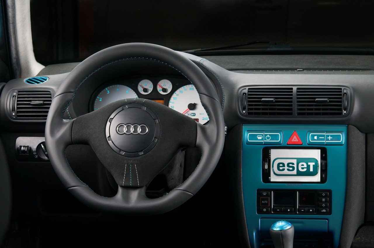 Eset gets a nod32 audi a3 antivirus car from vilner for Auto interieur tuning