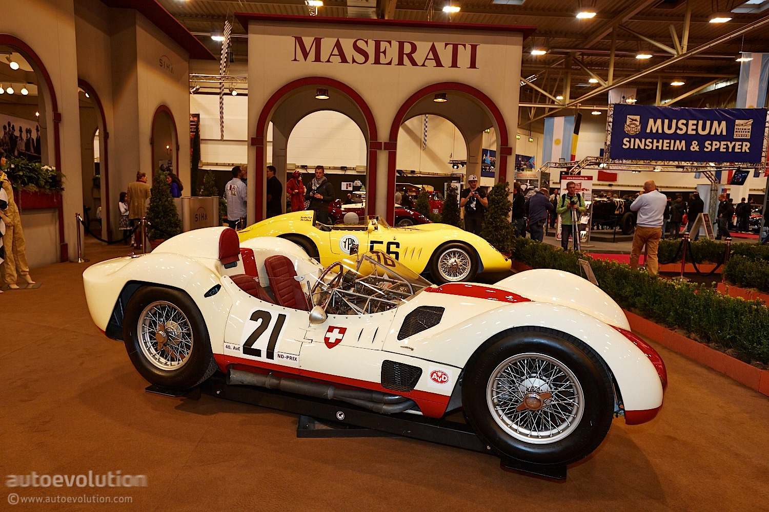 Essen 2013 Classic Maserati Race Cars Live Photos
