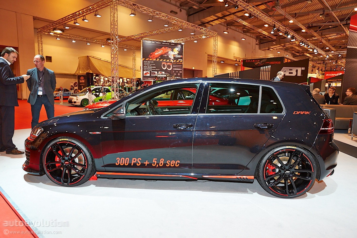 Essen 2013: VW Golf 7 GTI Dark Edition by ABT [Live Photos ...