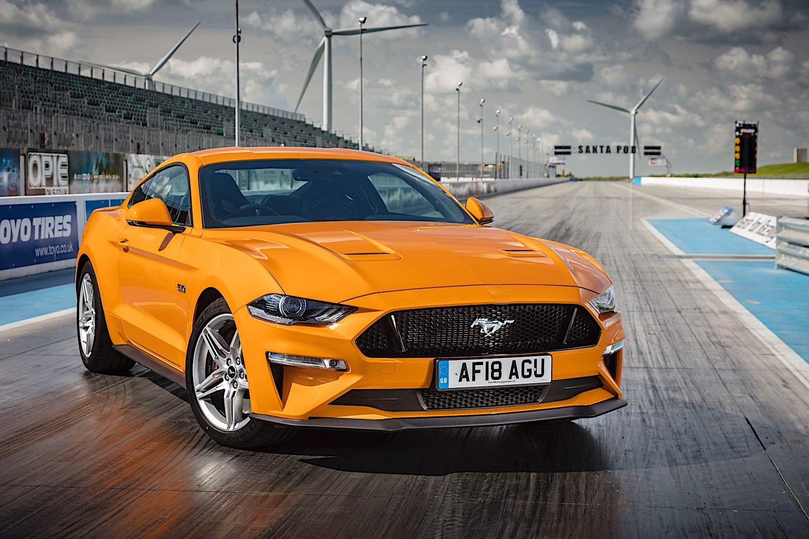 Euro Ford Mustang Gets Bullit Upgrades, 1,000 Watts Sound ... Mustang
