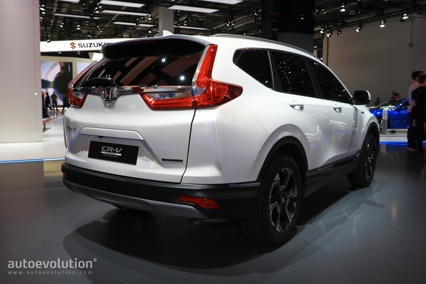 Euro Spec 2018 Honda Cr V Ditches Sel For Hybrid Engine