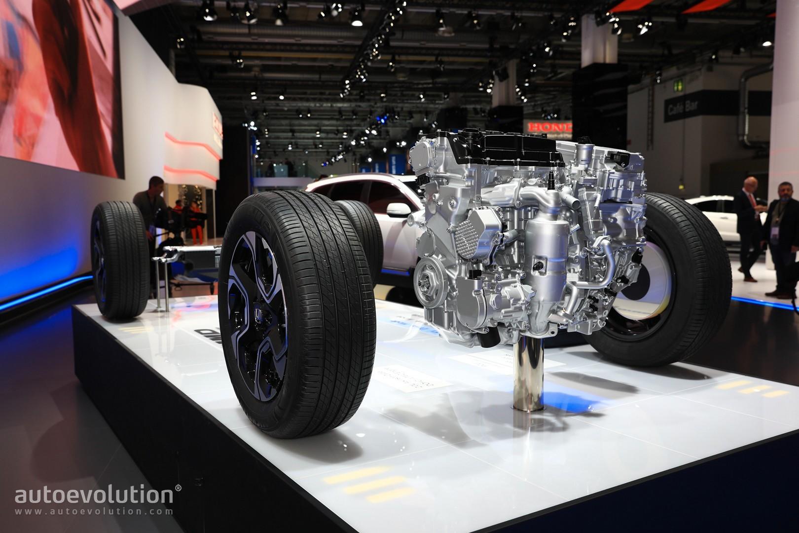 Euro-spec 2018 Honda CR-V Abandons Diesel for Hybrid Engine - autoevolution
