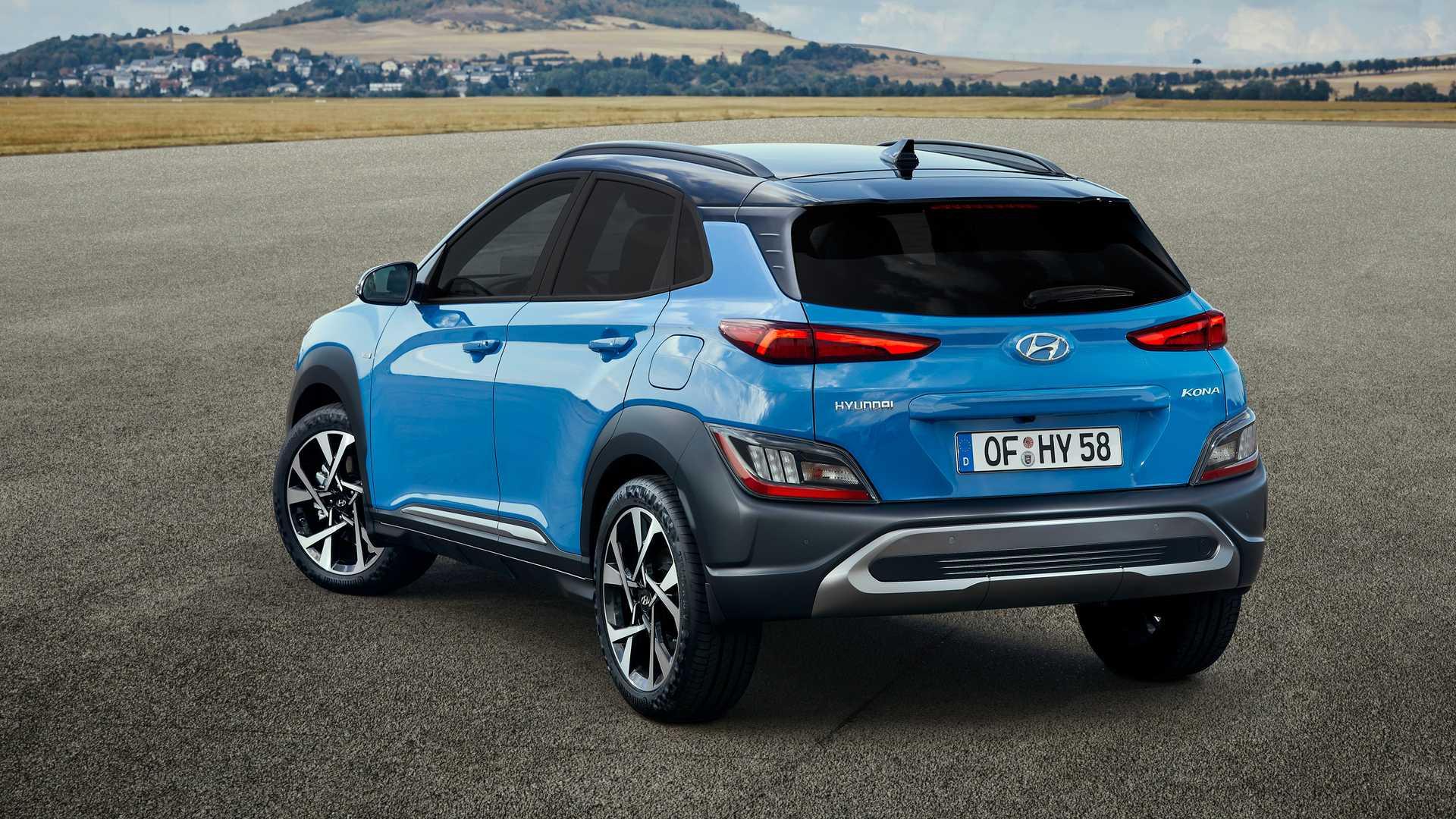 Euro-Spec 2021 Hyundai Kona Is Funkier, Kona N Line Takes ...