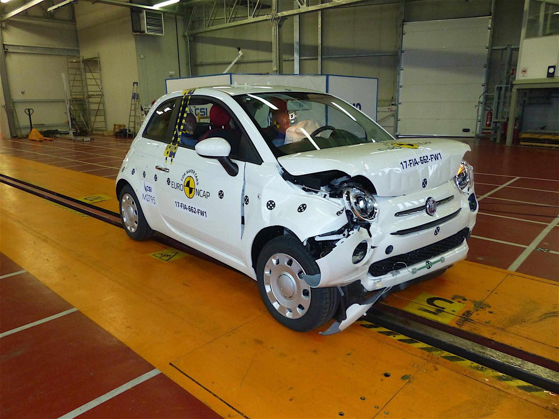 Facelift Crash Test