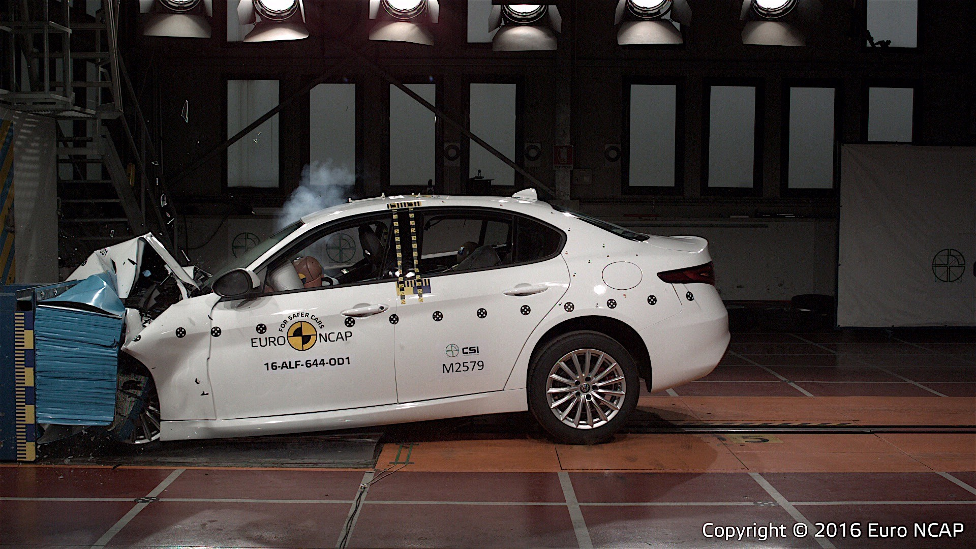 Euroncap Tests Alfa Romeo Giulia Seat Ateca And Vw