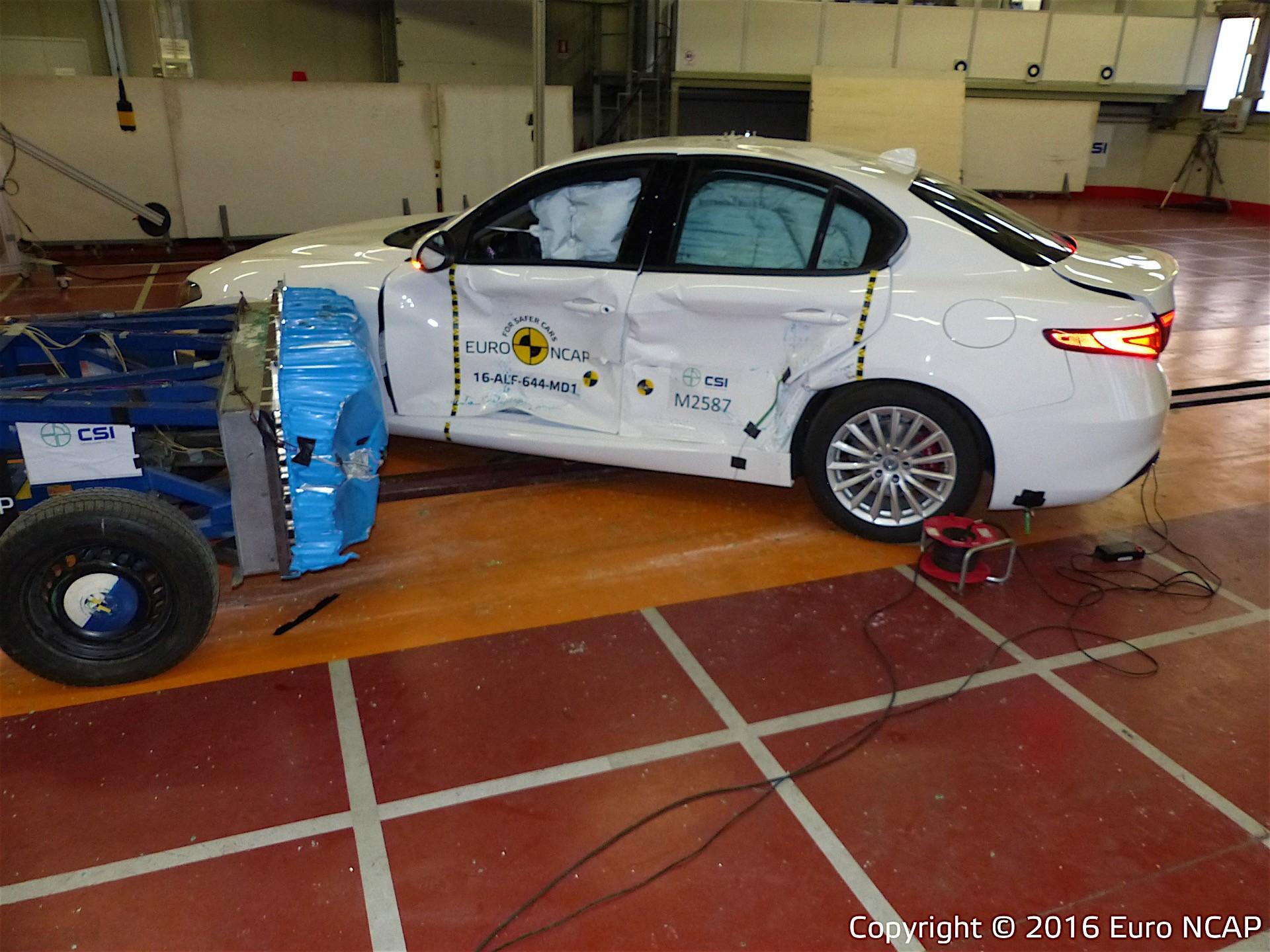 Euroncap Tests Alfa Romeo Giulia Seat Ateca And Vw