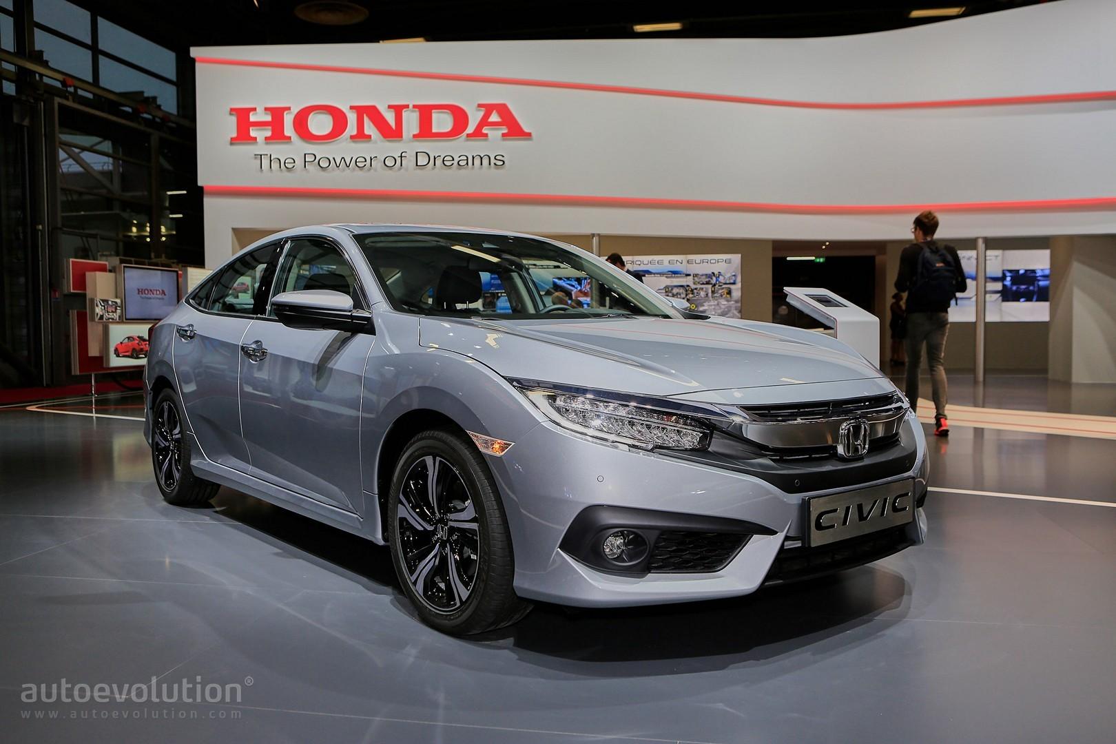 European 2017 Honda Civic Sedan Is Better than a Jetta in Paris ...