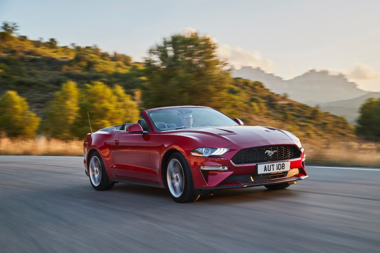 Euro spec 2018 ford mustang facelift
