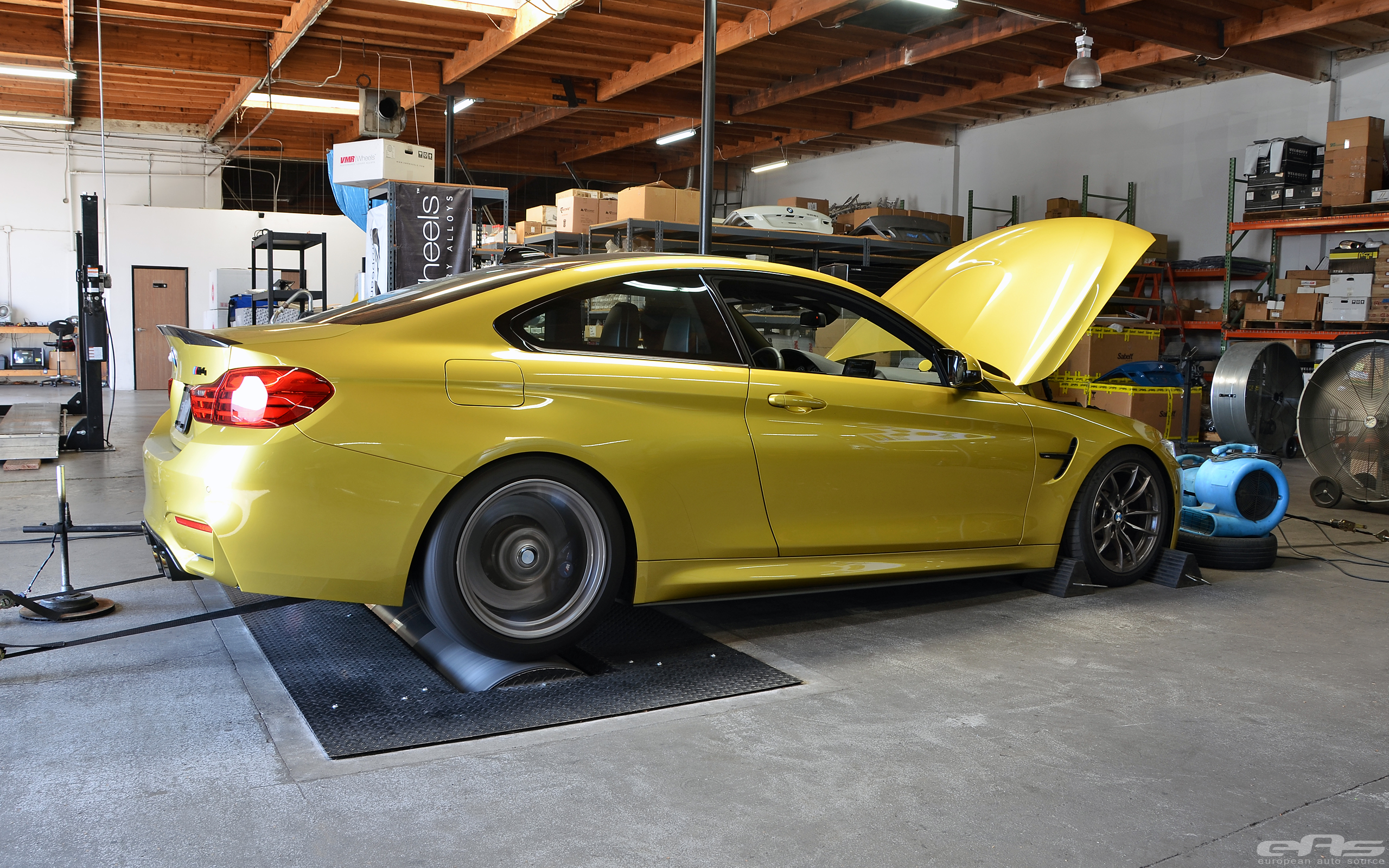 European Auto Source S M4 Goes Up To 559 Whp Autoevolution