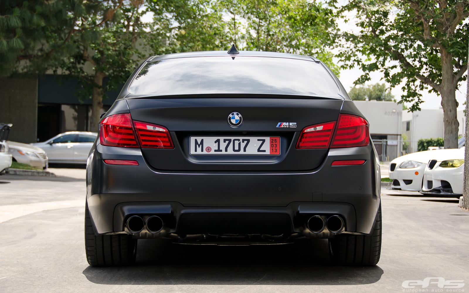 European Delivery Bmw M5 Gets Eisenmann Race Exhaust At