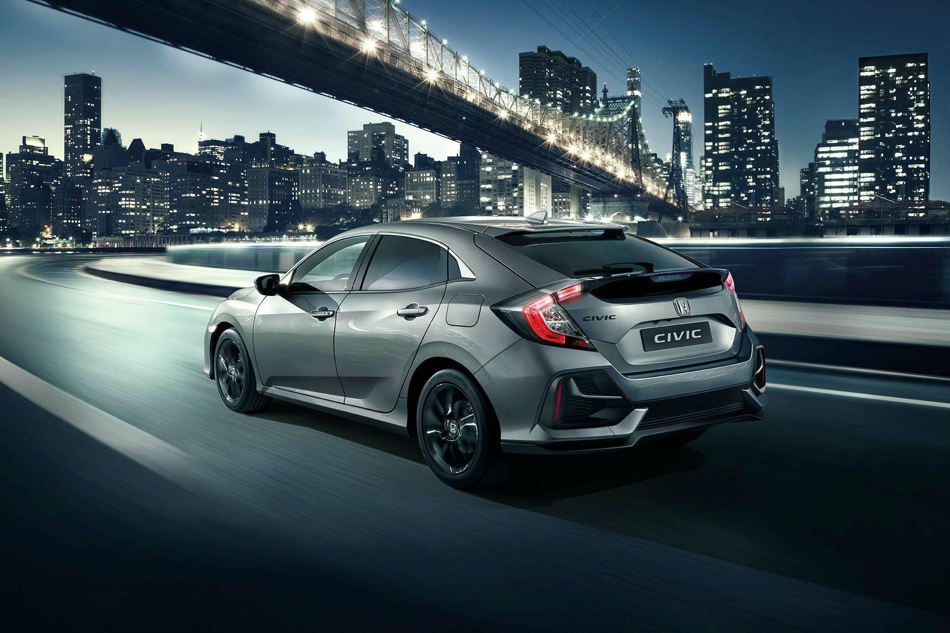 European Honda Civic Updated for 2020 - autoevolution