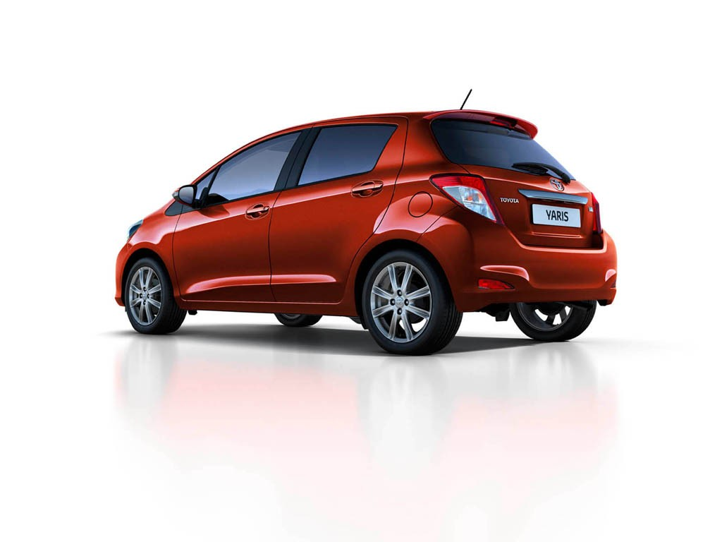 European Spec 2012 Toyota Yaris Previewed Gallery