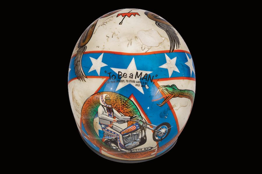Evel Knievel's Wembley Bruised Helmet Goes under the Hammer ...